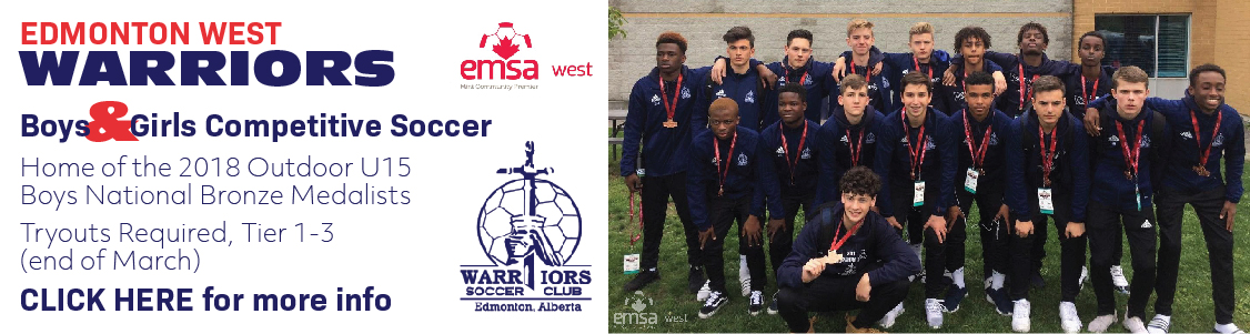 Edmonton West Warriors Premier Soccer